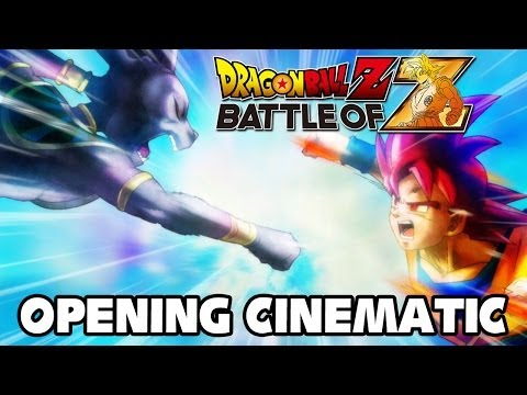 Dragon Ball Z Battle of Z Opening Cinematic 1440p TRUE HD QUALITY