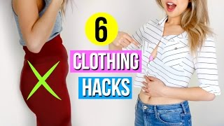 6 Clothing Hacks Every Girl Must Know!