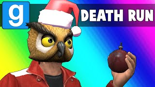 Gmod Death Run Funny Moments - Traps Under the Tree and Laggy Jenga! (Garry