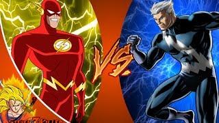Flash VS Quicksilver _ DEATH BATTLE! REACTION!!!