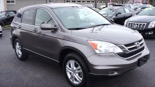 2010 Honda CR-V EX-L Walkaround, Start up, Tour and Overview