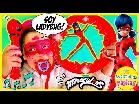 Xxx Mp4 👧 BABY Pecas Quiere Ser Como LADYBUG 🐞 JUGUETES Rueda Y Cinta LUCKY CHARM De BANDAI 😱 3gp Sex