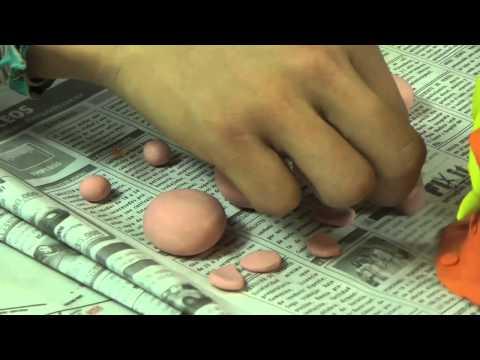 Nacimiento de plastilina