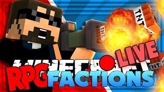 Minecraft: RPG Factions | TNT LAUNCHER GUN!! [14]
