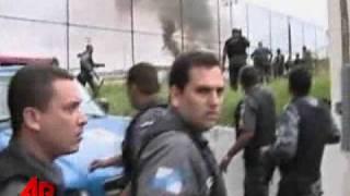Raw Video: Drug Gang Fire Downs Police Chopper