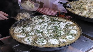 Food Tour at Old Spitalfields Market. London Street Food