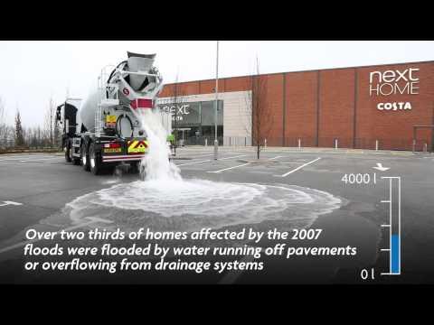 Solusi Banjir Jalan Beton Ajaib Menyerap Air (Permeable)