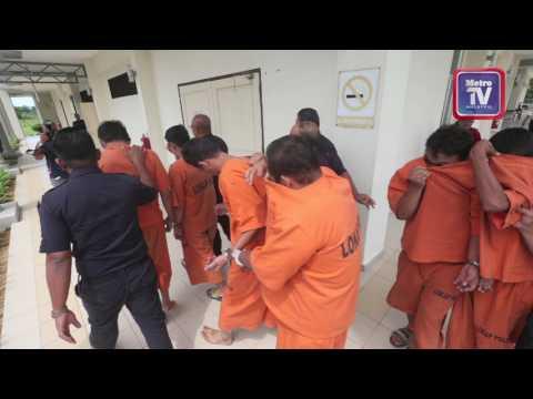 Enam lelaki didakwa rogol berkumpulan