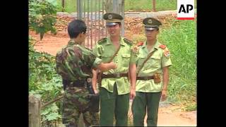 HONG KONG: BORDER WITH CHINA WILL NOT BE DISMANTLED AFTER HANDOVER