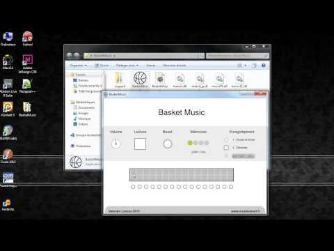 Création sonore sur BasketMusic