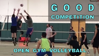 GOOD COMPETITION - Open Gym Volleyball Highlights 3/23/17 (part 2)