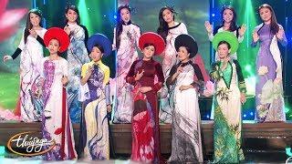 Áo Dài Fashion Shows với Lụa Thái Tuấn - Paris By Night Collection