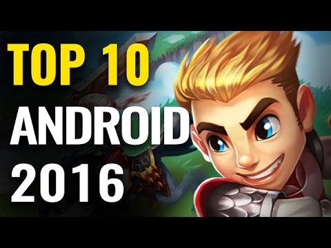 Top 10 Best Android Mobile Games of 2016   Games Of The Year