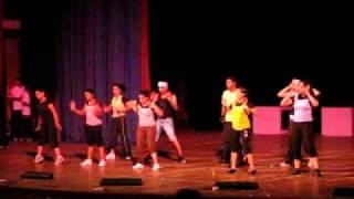 Shaimak Davar Kormangala Beginners group move shake drop .avi