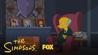 Mr. Burns Endorses Romney | Season 24 | THE SIMPSONS