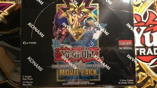 YuGiOh Dark Side of Dimensions Movie Pack - Booster Box Opening!