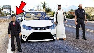 مسلسل ابو علوش ( 5 ) يشتري لطفله جوال جديد - ضحك لايفوتكم - GTA V Child By