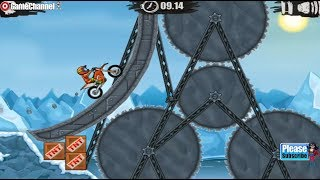Moto X3M 2 / Motor Bike Racer / For Children / Flash Online Gameplay Video