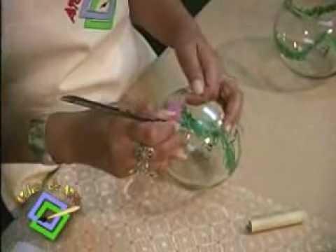 Atelier de Arte 05 Pintura en cristal