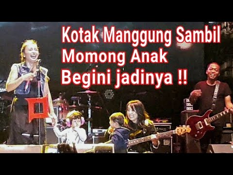 """Lucu"""" KOTAK Junior - Pelan Pelan Saja   Live At Bintaro Xchange Park 2017"""