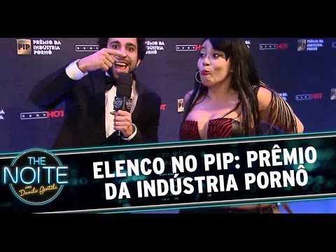 The Noite 20 10 14 Léo e Murilo no Prêmio da Indústria Pornô