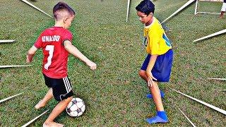 Neymar Vs Cristiano Ronaldo Brasil x Portugal Ultimate Skills Battle
