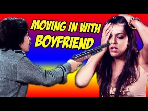 Bad News Breaker - Moving In With Boyfriend!!! bindass