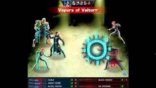 Marvel: Avengers Alliance - Black Widow + Cable + Quantum Jumper combo!