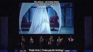 Kuroshitsuji I Ep 18 - Live Dubbing & Shuffle (Seiyuu Vietsub)