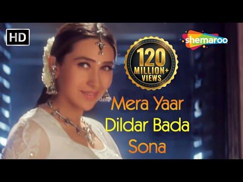 Mera Yaar Dildar Bada Sona Jaanwar Akshay Kumar Karisma Kapoor Sukhwinder Singh Gold songs