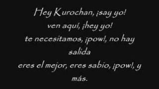 Kurochan opening español - Letra