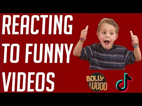 Reacting To Funny Videos