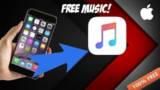 HOW TO GET FREE MUSIC ON YOUR IPHONE! (2016) (NO JAILBREAK) (NO COMPUTER)