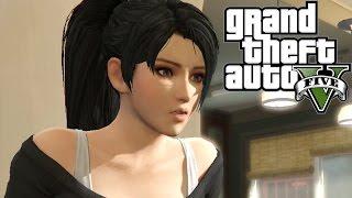 Momiji in GTA V Missions Cut-Scene