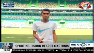 Berita Terbaru MARTINUS Anak Angkat Ronaldo Asal Aceh Gabung Klub Sporting Lisbon   YouTube