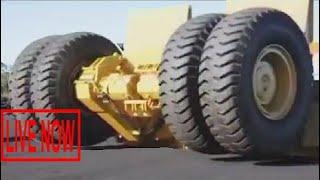 Amazing Dangerous Excavator Skills Driving Off Road, Most Giant Dump Truck Transport 2017 #SON