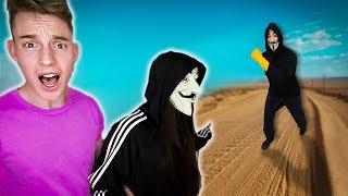 RESCATO A LA CHICA HATER DEL HACKER EN LA VIDA REAL !! *la encerró 24 horas* Exi