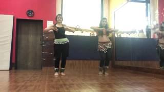 Kathak belly fusion by Ishita Sharma & Urmila Thakkar (Shape of you)