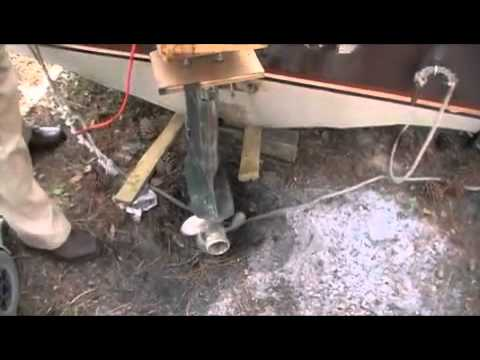 Homemade Outboard Engine