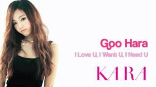 Goo Hara - I Love U, I Want U, I Need U [audio] City Hunter OST
