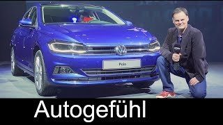 Volkswagen Polo reveal REVIEW all-new VW Polo 2018 - Autogefühl