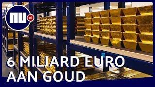 Exclusief kijkje in zwaarbeveiligde goudkluis DNB | NU.nl