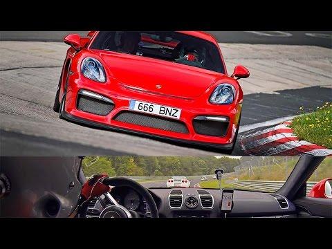 Chevrolet Corvette vs Porsche Cayman GT4 Nurburgring Nordschleife TF