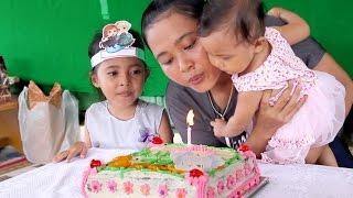 perayaan ulang tahun bayi lucu shanti ke 1- baby first birthday party