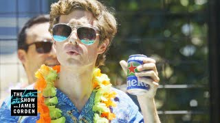 Hollywood Writer Is Ready to Be the Face of Heineken