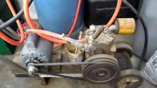 Homemade Air Compressor