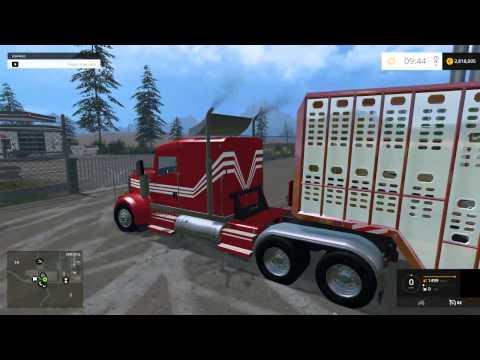 Farming Simulator 2015 Mods Dodge Cummins 2500 4X4 Gehl skid steer Cat Loader