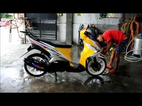 Yamaha Mio 125 MX Moto Washing Tagalog