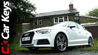 Audi A3 Saloon 4K 2016 review - Car Keys