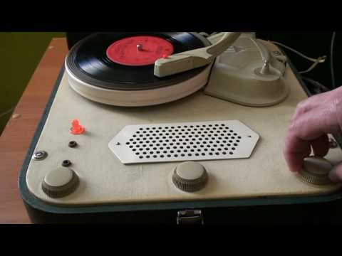 Gramofon Bambino 1963